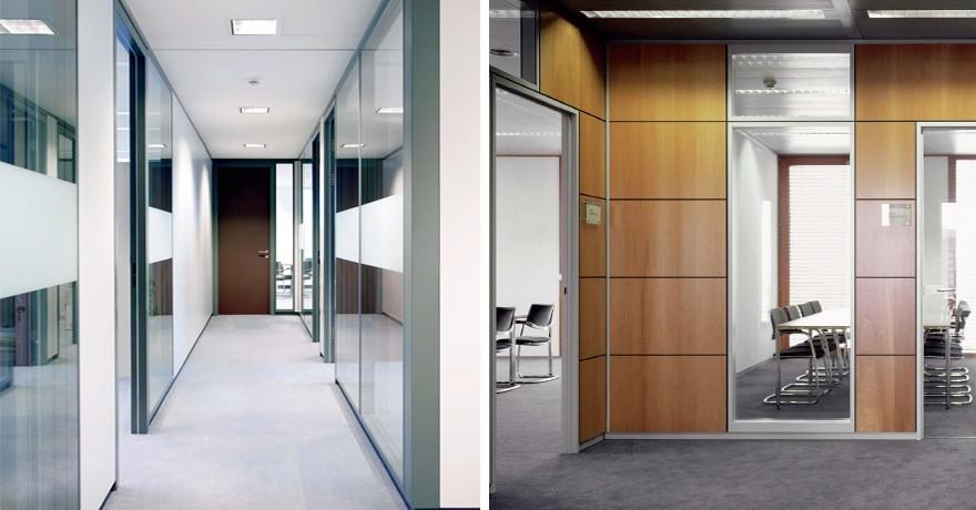 Visual projects equipamiento integral soluciones de for Mamparas de vidrio para oficinas
